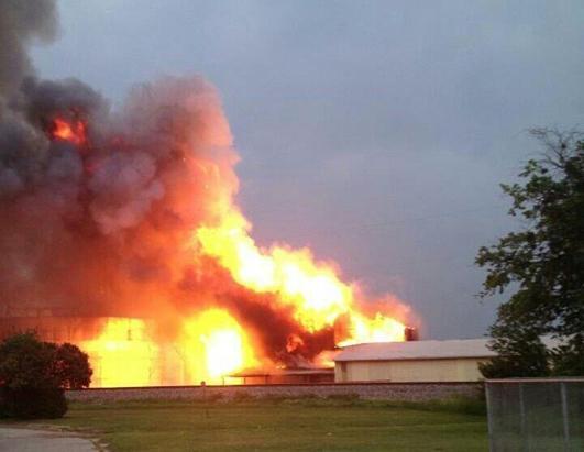 Waco texas fertilizer plant explosion